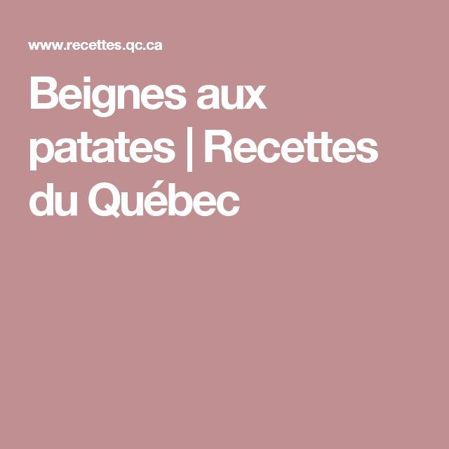 Beignes aux patates | Recettes du Québec