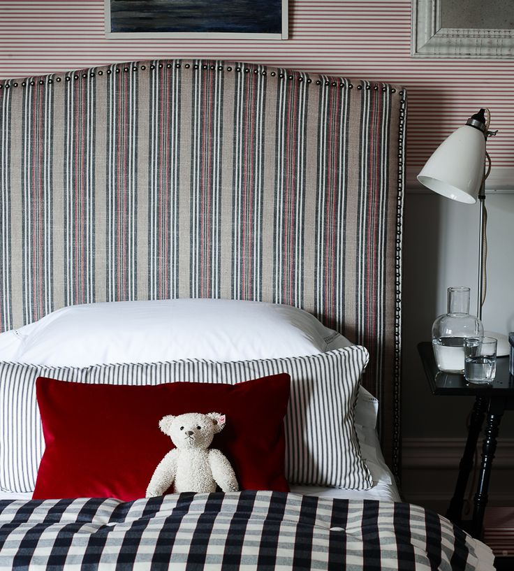 How To Style | Boys Rooms | Jura Stripe Fabric by Ian Mankin | Jane Clayton