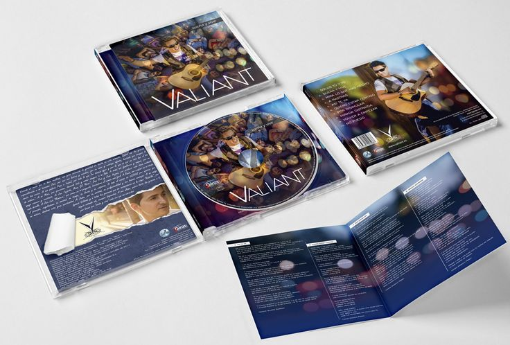 Diseño gráfico y maquetación de cd.