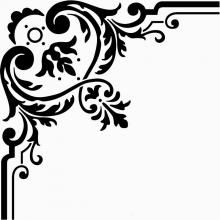 Craftsmanspace.com   Free woodworking patterns, books, 3D models, etc..  Could use for stencils.