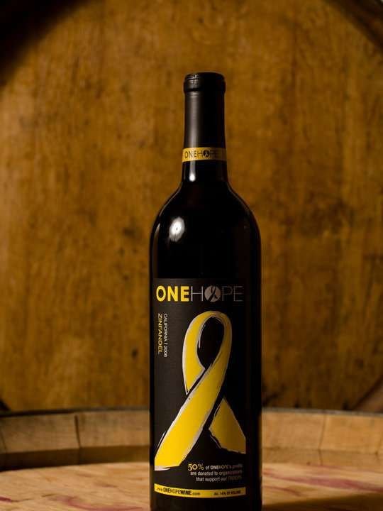'ONEHOPE Wines' Donate Half Their Profits to Charity #drinking #drink #charity