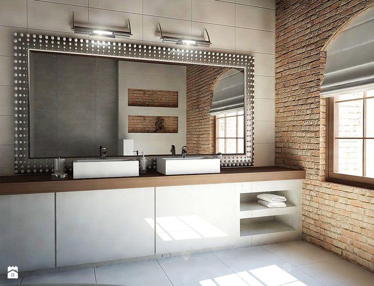 Łazienka - Styl Nowoczesny - 4Uprojekt- Projekty wnętrz