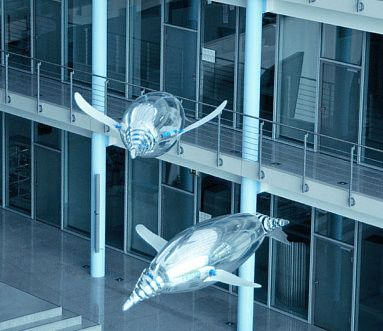 Festo are a great example of a company that strive to 'innovate better' - the AquaPenguin is one product which takes automation and didactics to a whole new level.