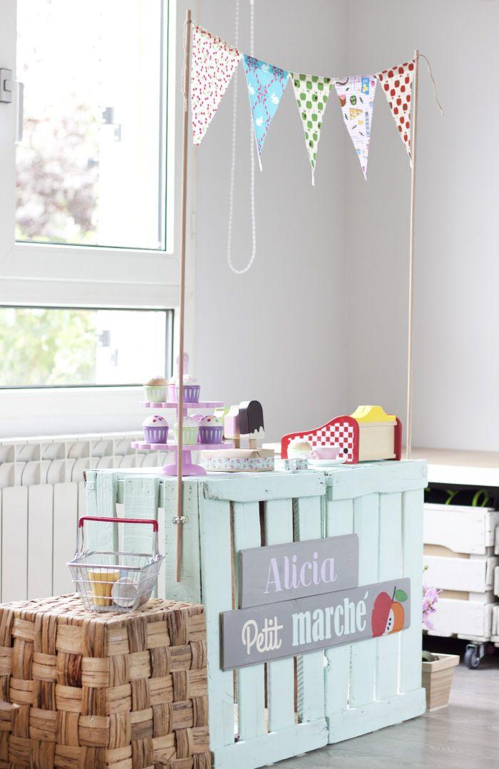 Im-presionante    Azucarillos de Colores: Tenderete handmade para jugar a las tiendas