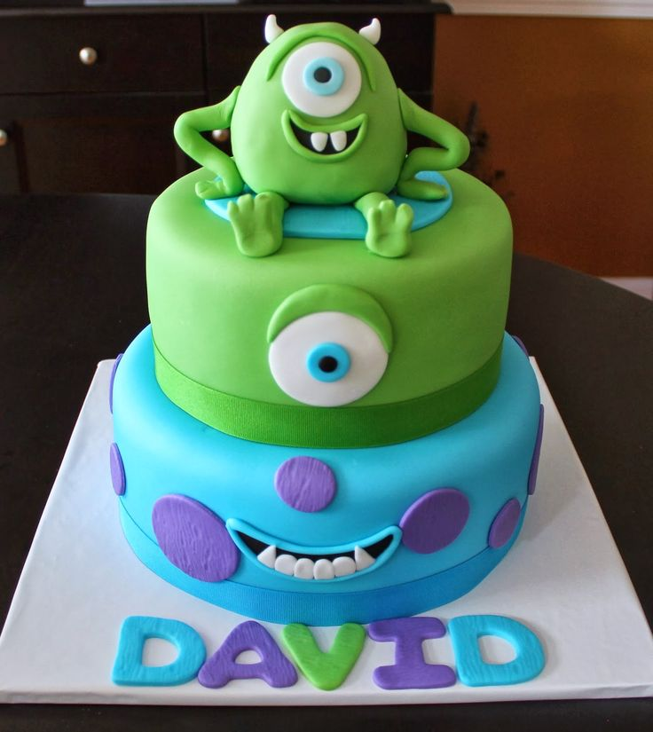 19 best images about monsters inc cake on Pinterest ...