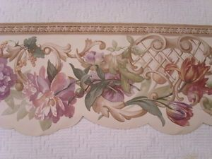 103 best images about Victorian Rose Wallpaper Border on ...