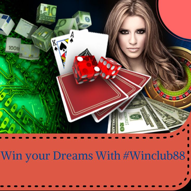 Win your Dream with winclub88asia : Play Live casino,Sports,Slots and more.