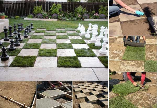 Chessboard Patio: 31 Insanely Cool Ideas to Upgrade Your Patio This Summer