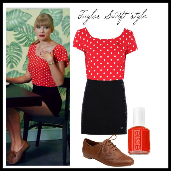 """Love Taylor's outfit from """"We Are Never Ever Getting Back Together""""!"""