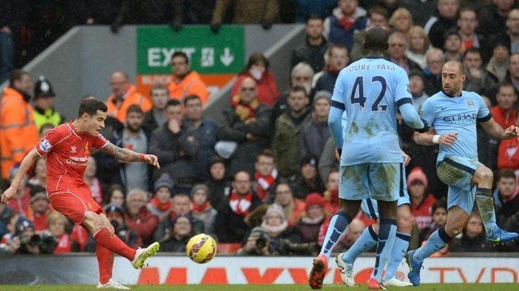 Blog Esportivo do Suíço: Philippe Coutinho decide e dá vitória ao Liverpool sobre o City