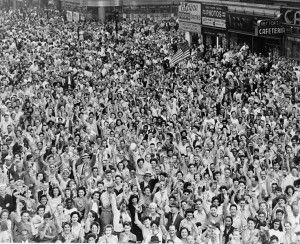 What is VJ day?