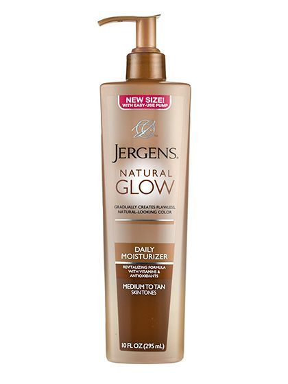 Best of Beauty 2015 Winner -- The best gradual self-tanner body bronzer: Jergens Natural Glow Daily Moisturizer | allure.com