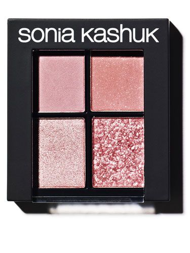 NEW SPRING SHADES TO ENHANCE YOUR EYES 2013:Sonia Kashuk Monochrome Eye Quad in Textured Rose