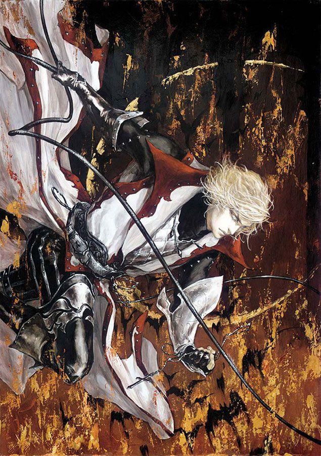 Leon Belmont Promotional Art - Castlevania: Lament of Innocence