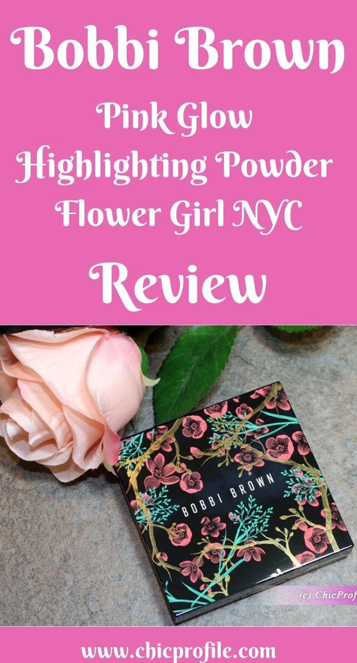 Bobbi Brown Pink Glow Highlighting Powder Flower Girl NYC