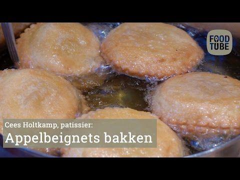Appelbeignets bakken met Cees Holtkamp - YouTube