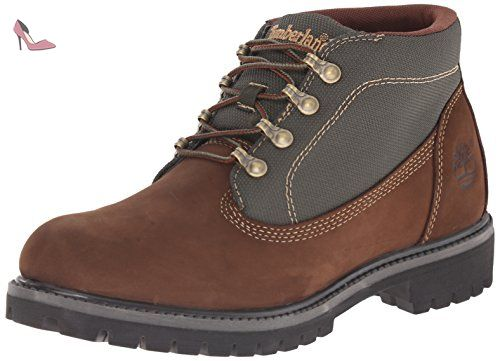 Timberland Mens 6-Inch Campsite Brown Leather Boots 46 EU - Chaussures timberland (*Partner-Link)