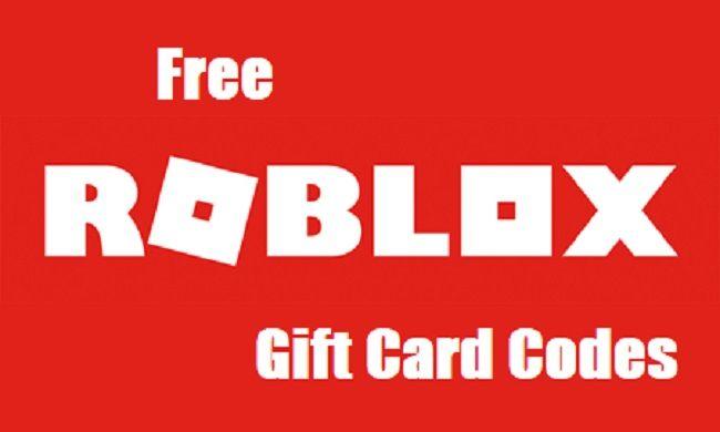 Free Robux Gift Card Codes 2020 No Human Verification لم يسبق له