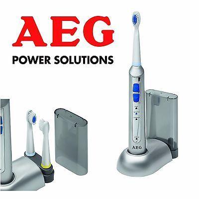Brosse à dents électrique rechargeable 5664 AEG argent pour Femme Homme Enfant   eBay