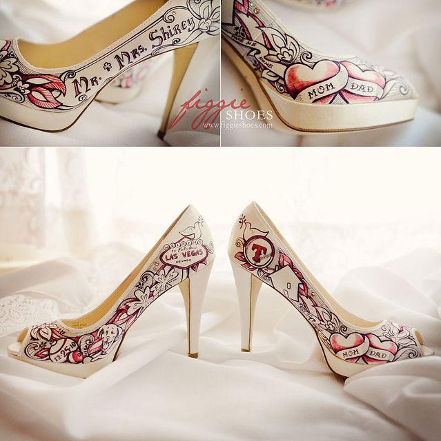 Unique Wedding Shoes Bride