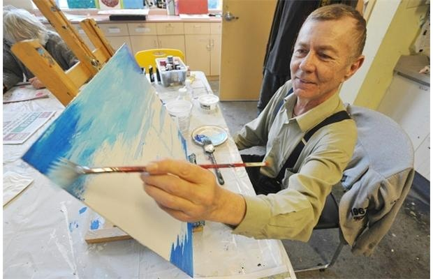 Empowered Health: Brush with art started road back to health