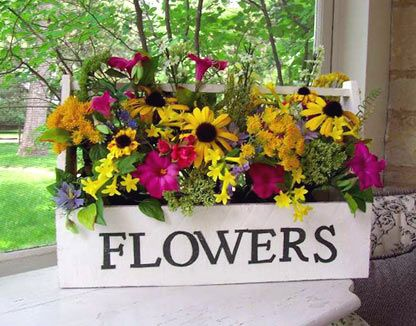 Market Flowers--summer flowers for your porch and patio