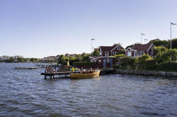 Die Feriensiedlung Brändaholm in Karlskrona