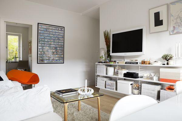 małe mieszkanie,47m w stylu skandynawskim,jak urządzić małe mieszkanie