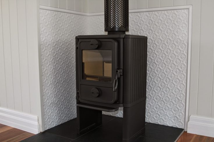 Renovating a Queenslander: Pressed tin / metal and pot bellied stoves / wood heaters