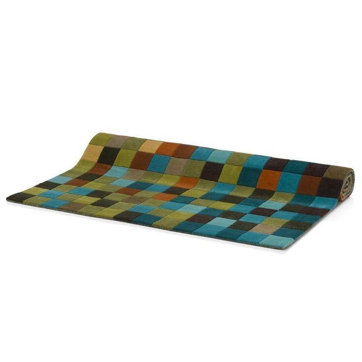 New cubic karpet 160x230cm van COCO maison koop je zonder verzendkosten en snel bij deleukstemeubels.nl  | Deleukstemeubels.nl