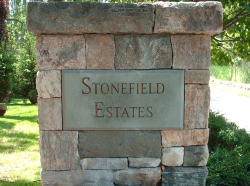 Granite Stone Monuments : Best images about signage on pinterest faux stone