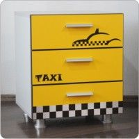 Comoda copii Taxi