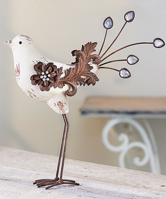 Standing Bird Figurine