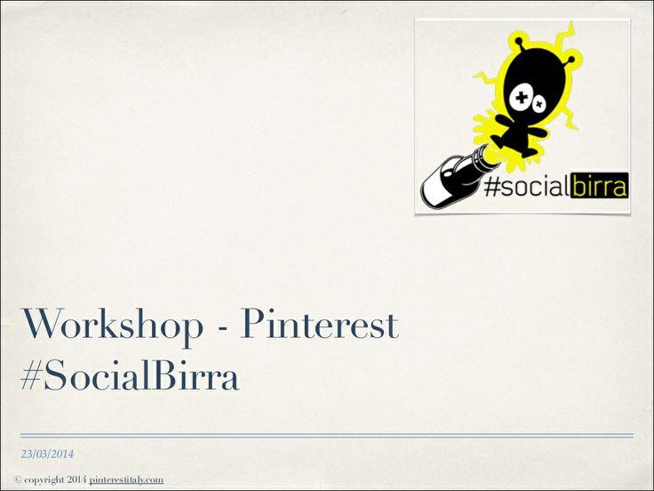 Come preparare un piano editoriale e un report per Pinterest