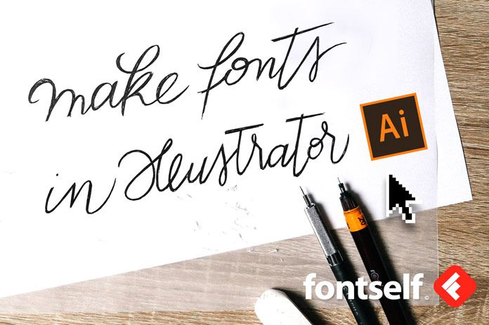 Create Fonts in Adobe Illustrator with Fontself