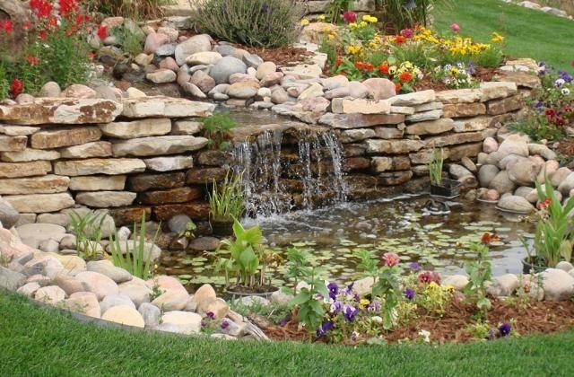 mini jardim aquatico:1000 ideias sobre Cachoeiras De Quintal no Pinterest