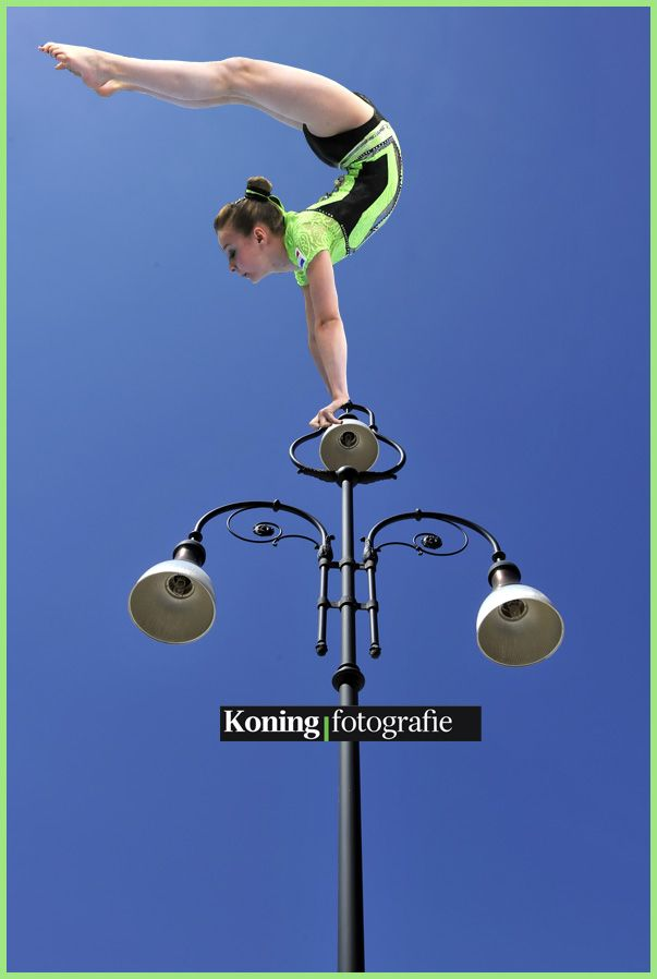 Acrogymnasten kunnen overal hun kunsten vertonen!