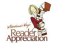 7th Annual Barbara Vey Reader Appreciation Weekend April 27-29, 2018 Clarion Hotel – Airport 5311 S Howell Ave Milwaukee, WI 53207 Sign up 9/9 for the  @BarbaraVey Reader Appreciation Event! Meet your fave authors! sit with @sabrina_york  http://barbaravey.com/bvw17/