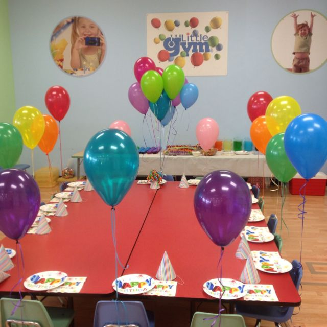 7 Best My Gym Birthday Party Images On Pinterest