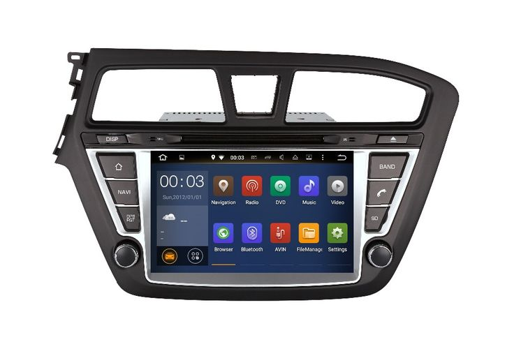 FREE GIFTS Quad Core Android Fit HYUNDAI I20 2014 2015 2016 2017 Car DVD Player GPS Radio DVD Radio Navigation multimedia PC