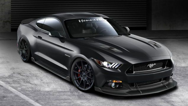 Hennessey Will Build A 717 HP Ford Mustang For The Price Of A Hellcat (looks a little like an RC car to me)