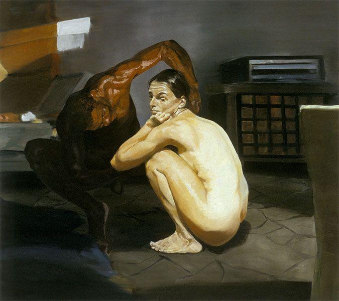 Eric Fischl - The Travel of Romance, Scene I, 1994