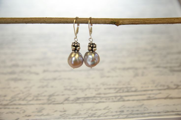 Blush pearls flatter every complexion. Fine quality baroque pearls with just a hint of pink go with everything.