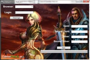 http://gamehack.eu/2012/soul-guardian-hack-v2-3/  Watch the video and see how easy it is! Do you want to be the best? This will be the most recent hacks Soul of the Guardian Hack v2.3. All the instructions on the video!    Hack added:  - gold  - silver