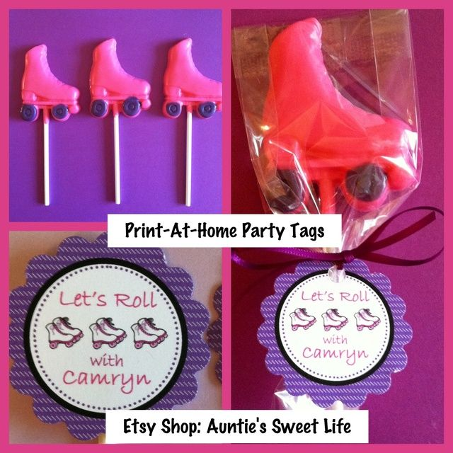 Roller Skate Birthday Party Ideas | Photo 4 of 39 | Catch My Party