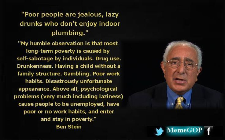 Yeah, you jealous lazy drunks! Be more like Ben Stein! - http://holesinthefoam.us/bensteinasshole/