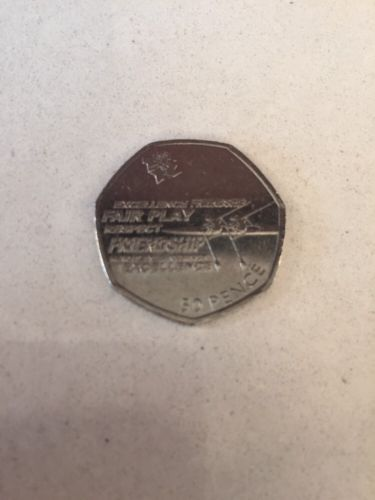 Rare 50p coin #olympic #rowing 2012,  View more on the LINK: 	http://www.zeppy.io/product/gb/2/222252802674/