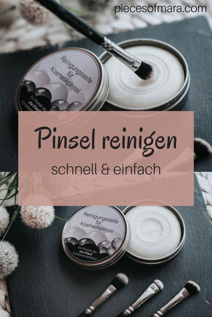 How to: Pinsel schnell & sauber reinigen -> http://piecesofmara.com/how-to-pinsel-schnell-sauber-reinigen