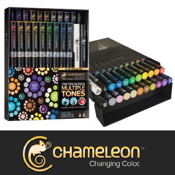 Chameleon Markers set of 22. RRP $149.99 Sale $119.95. In stores and online.