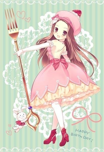 Anime girl cupcake anime, manga & co. Pinterest Girl